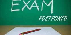 香港中學文憑考試延期舉行