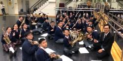 香港青年音樂匯演管樂合奏(初級組)