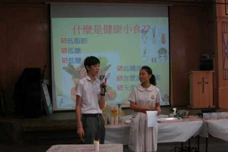 到訪天保民學校:「認識營養標籤」講座及「健康小食DIY」活動