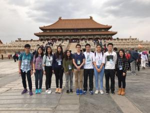 本校同學到北京交流