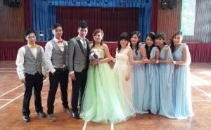 2015年1月4日校友梁浩銘及郭潤金回校拍結婚相 - 複製