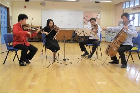 匯豐創意音符-弦樂四重奏