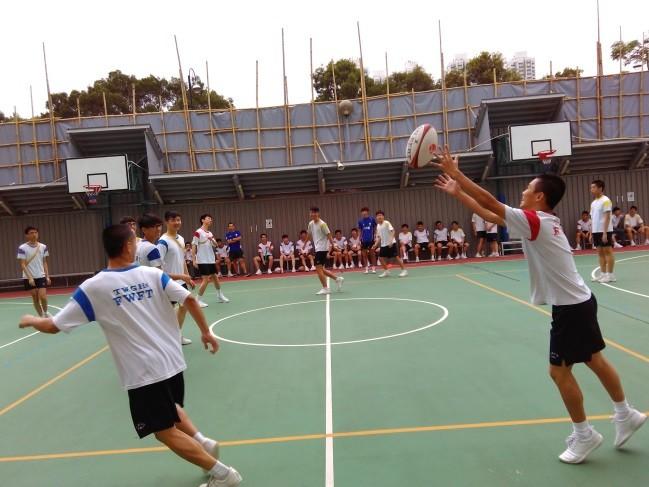 體育課 – 欖球